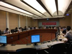 「智慧建築能源管理系統資通訊標準調和委員會」與會來賓熱烈討論