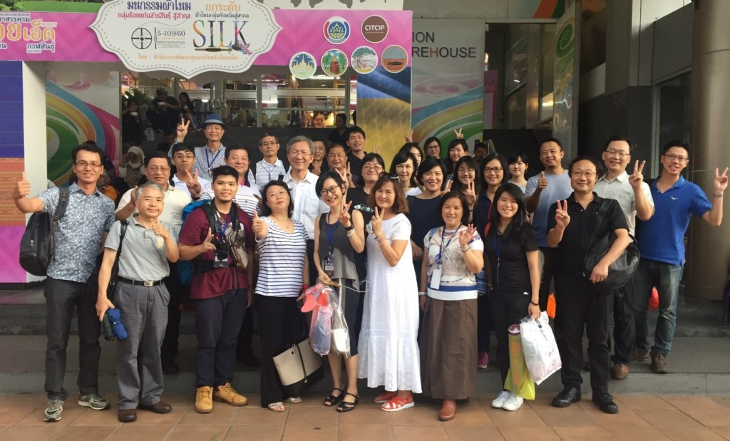 泰國參訪團全體團員合影